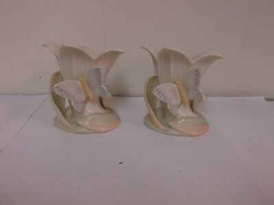 Lenox Butterfly And Lily Garden Splendor Candle Holders  New