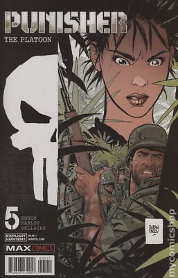 Punisher The Platoon (Marvel) #5 2018 NM Stock Image