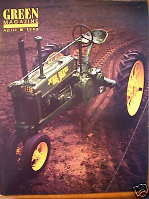 John Deere Dubuque Model 420 Tractor Green magazine
