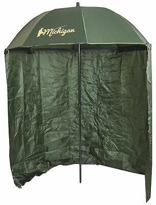 Carp/Sea Fishing Umbrella with Top Tilt and Zipped Sides Brolly Shelter