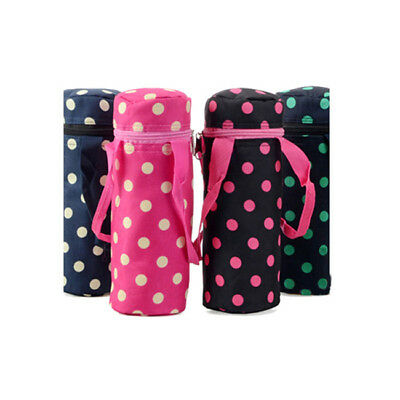 Baby Infant Food Milk Water Drink Bottle Cover Keep Warm Travel Tote BS