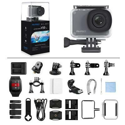 Akaso V50 Pro Ultra HD 4K 20MP WiFi Action Camera [2018 NEW] W/ Eis Touch Screen