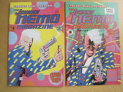 STRANGE DAYS presents The JOHNNY NEMO MAGAZINE 1 & 2 CLASSIC ECLIPSE 1984 SERIES
