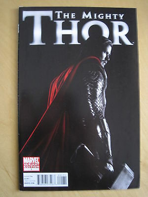 THE MIGHTY THOR 1 by FRACTION & COIPEL.CHRIS HEMSWORTH PHOTO VARIANT.MARVEL.2011