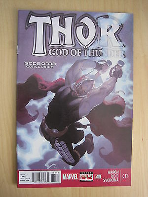 THOR GOD of THUNDER # 11 by AARON & RIBIC. FANTASTIC !. MARVEL NOW! 2013
