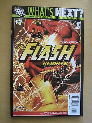 WHAT'S NEXT? Special Edition DC PREVIEW Series FLASH REBIRTH 1 by JOHNS & SCIVER