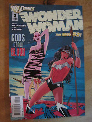 Wonder Woman  #  2.  The New 52. Great Cover ! Dc. 2011