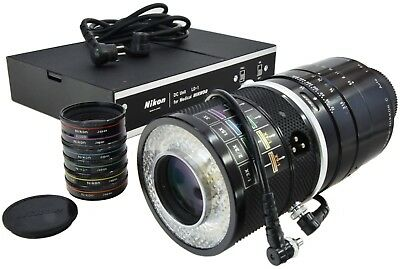 NIKON Medical-Nikkor·C 200mm 5.6 + x6 Auxiliary Macro lenses + LD-1 Power Supply