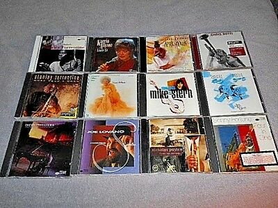 Lot Of 12 - Contemporary Jazz Cd's - Instant Collection - One Is Sealed