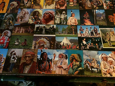 Native American Indian Postcard Post Card Lot of 42