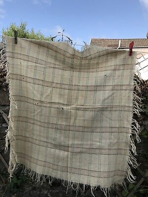 Antique Welsh Costume Child's Shawl Welsh Wool