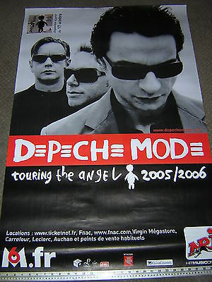 Original Depeche Mode Promotional French Tour Poster - Touring The Angel