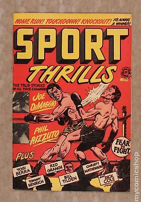 Sport Thrills (Star) #12 1950 VG+ 4.5