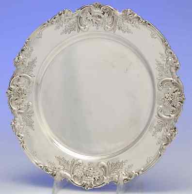 Reed & Barton FRANCIS I (STERLING) Hand Chased Service Plate 3647392