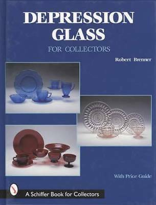 Depression Glass Collectors ID Price Guide in Color - From Adam to Windsor