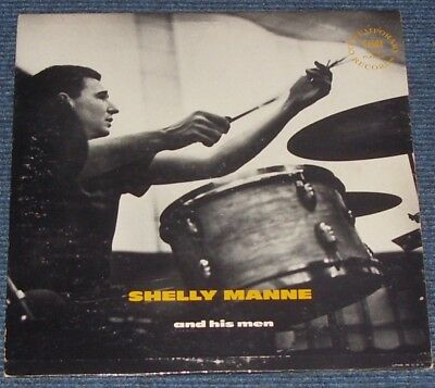 Shelly Manne and his men, Contemporary C 2503 10 inch
