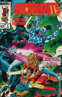 Micronauts Special Edition #4 1984 FN Stock Image