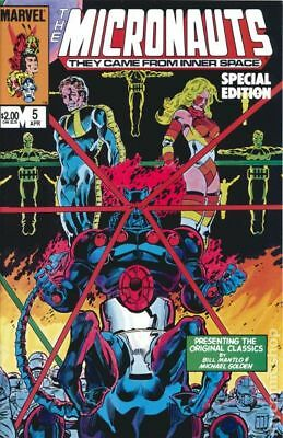 Micronauts Special Edition #5 1984 FN Stock Image