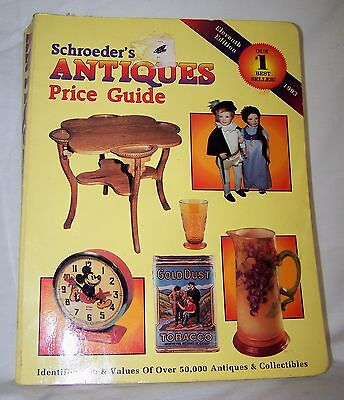 Schroeders Antiques Illustrated Price Guide 1993-11th Edition-PB