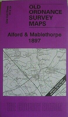 OLD ORDNANCE SURVEY MAP ALFORD & MABLETHORPE 1897 Sheet 91 & 104