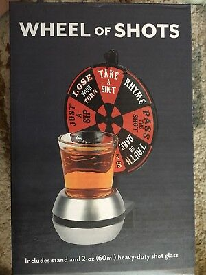 Wheel of Shots Drinking Game by Barbuzzo