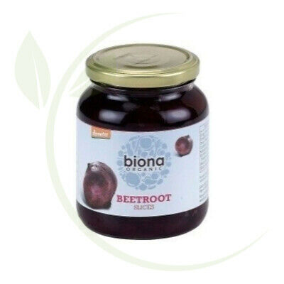 Biona Beetroot Sliced (Organic) ~ 340g 350g