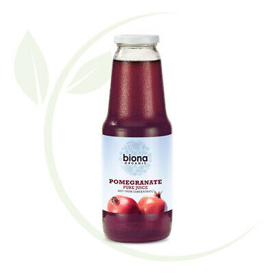 Biona Pomegranate Juice (Pure) (Organic) ~ 1 litre Not from concentrate