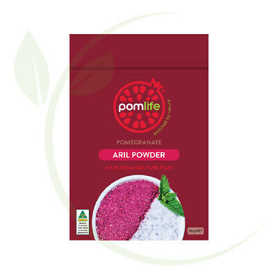 PomLife Freeze Dried Pomegranate Powd 50g