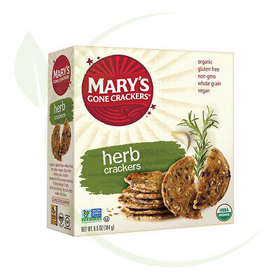 Mary's Herb Crackers 184gm