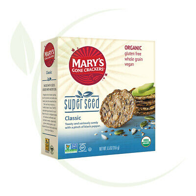 Mary's Super Seed Crackers 155gm