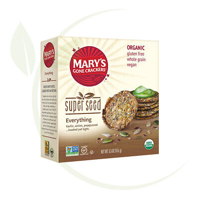 Mary's Super Seed Everything Crackers 155gm