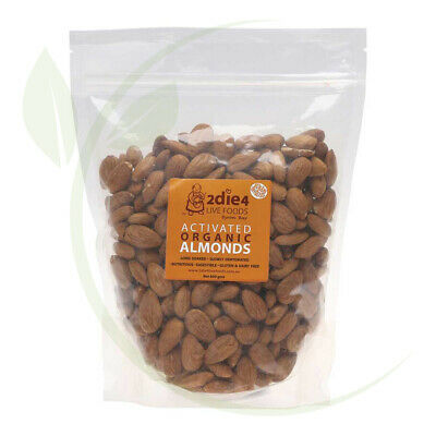 2DIE4 Activated Organic Almonds - 600g