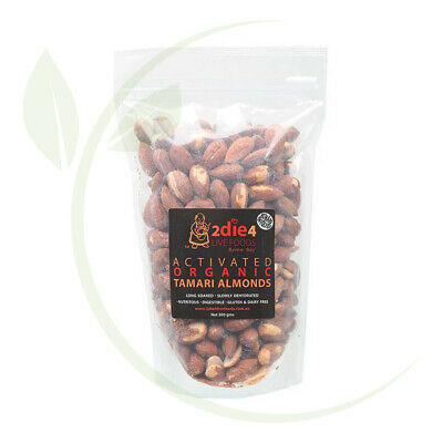 2DIE4  Activated Organic Tamari Almonds - 300g