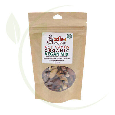 2DIE4  Activated Organic Vegan Mix - 120g