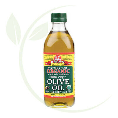 Bragg Olive Oil EV Unfiltered 473ml