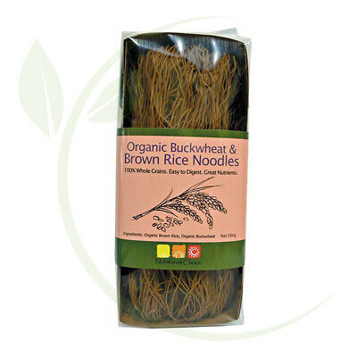 Nutritionist Choice Rice Noodles Buckwheat & Brown 200g
