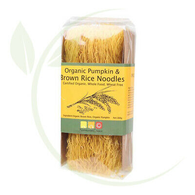 Nutritionist Choice Rice Noodles Pumpkin & Brown Rice 200g