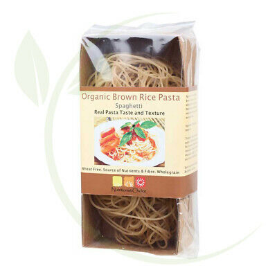 Nutritionist Choice Brown Rice Pasta Spaghetti 180g