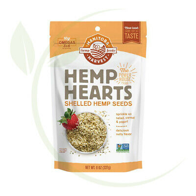Hemp Hearts - Shelled Hemp Seeds Natural 227g