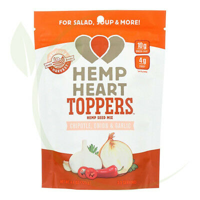 Hemp Heart Toppers Chipotle, Onion & Garlic 125g
