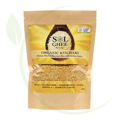 Organic Kitchari Moong Dhal & Basmati Rice Mix 400g