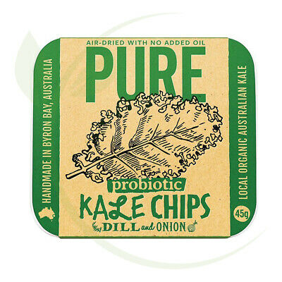Extraordinary Foods Kale Chips Dill & Onion 45g