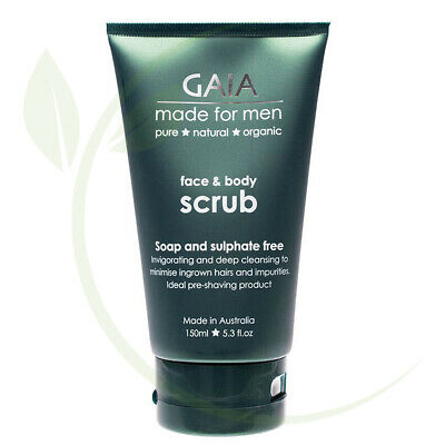 Gaia Made For Men Face & Body Scrub 150ml