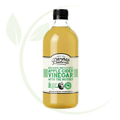 Barnes Organic Apple Cider Vinegar 1ltr