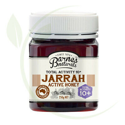 Barnes Naturals Jarrah Active Honey TA10+    250g