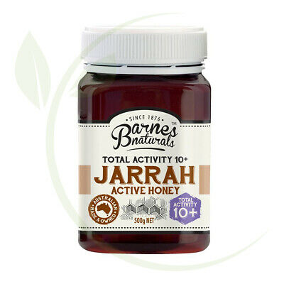 Barnes Naturals Jarrah Active Honey TA10+    500g