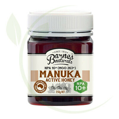 Barnes Naturals  Manuka Active Honey NPA10+ (MGO263+)-250g