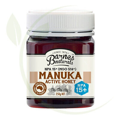 Barnes Naturals  Manuka Active Honey NPA15+ (MGO514+)-250g