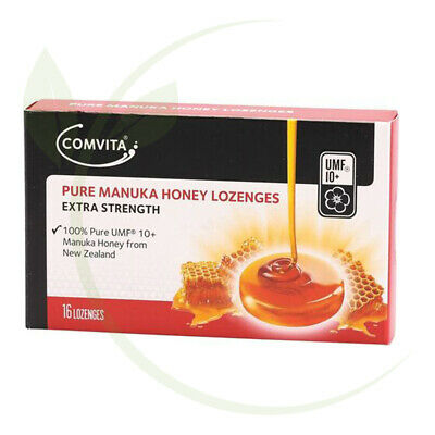 Comvita Pure Manuka Honey Lozenges UMF 10+  16 Lozenges