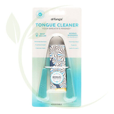 DR. TUNG   S     Stainless Steel Tongue Cleaner